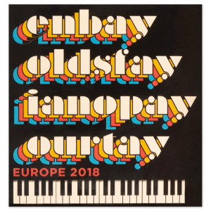 Ben Folds 2018 Europe Tour Sticker