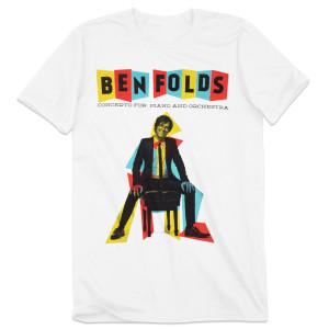 Ben Folds Concerto White T