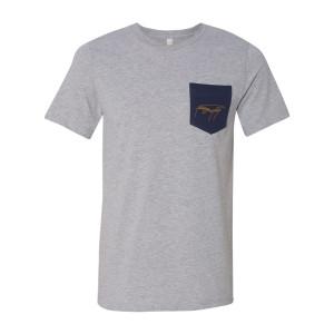 Piano Sketch Pocket T-shirt