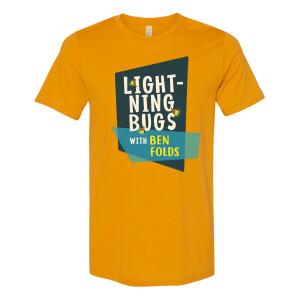 Lightning Bugs Mustard T-shirt