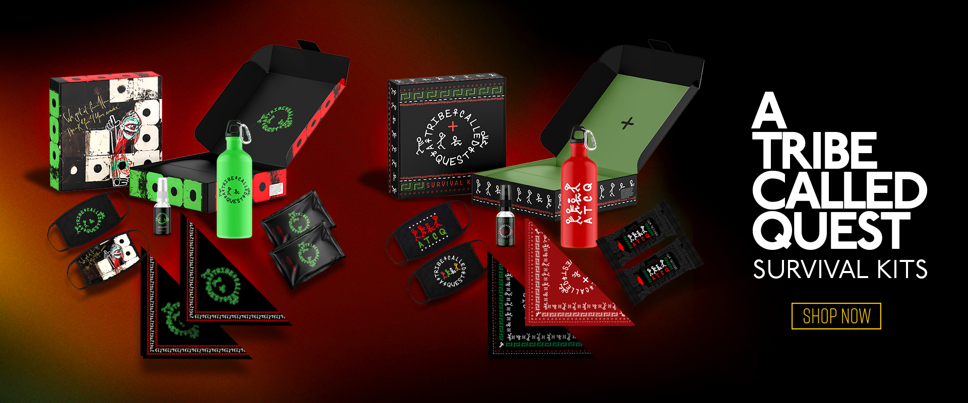 A Tribe Called Quest Survival Kit | Shop Now!