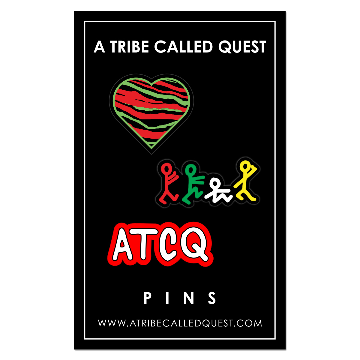 A Tribe Called Quest Pin Set
