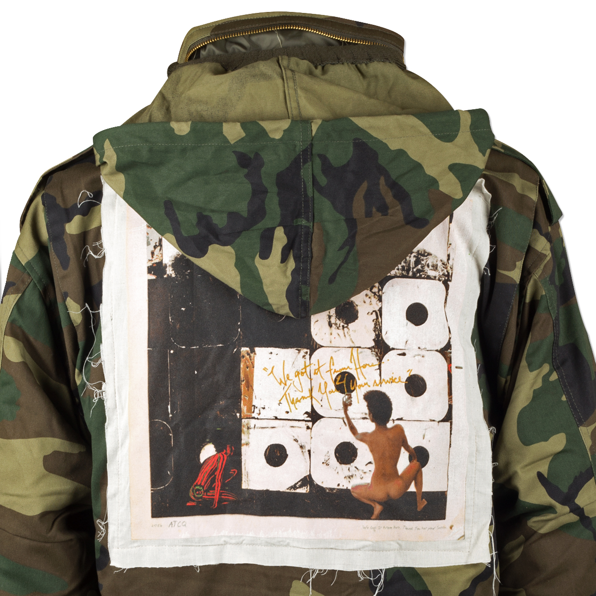 A Tribe Called Quest We Got It From Here Album Military Jacket