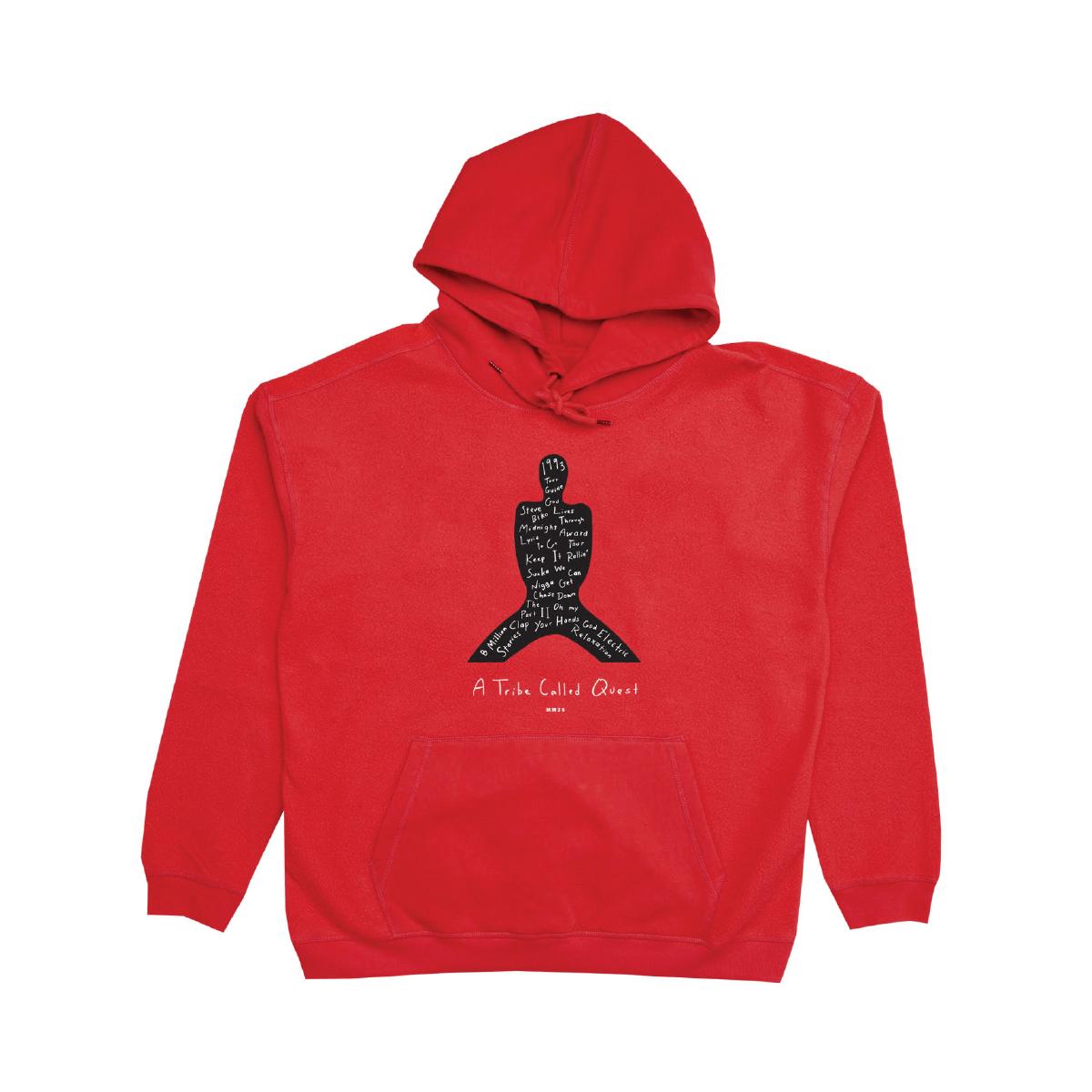 Midnight Marauders Red Pullover Hoodie