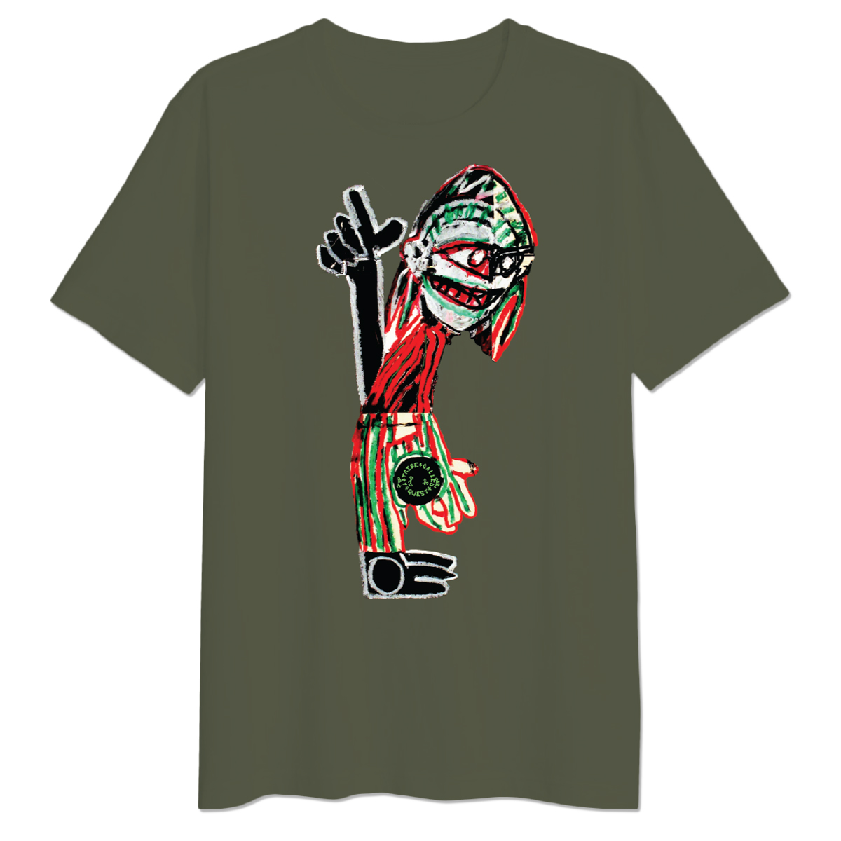 A Tribe Called Quest Character T-shirt