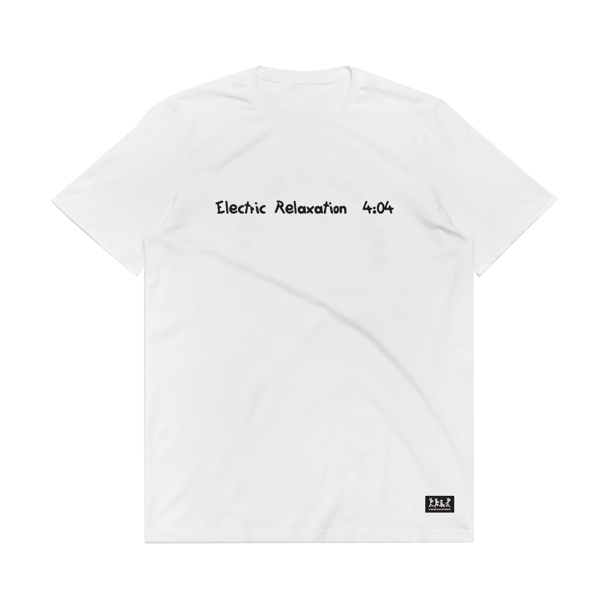 Electric Relaxation White T-shirt