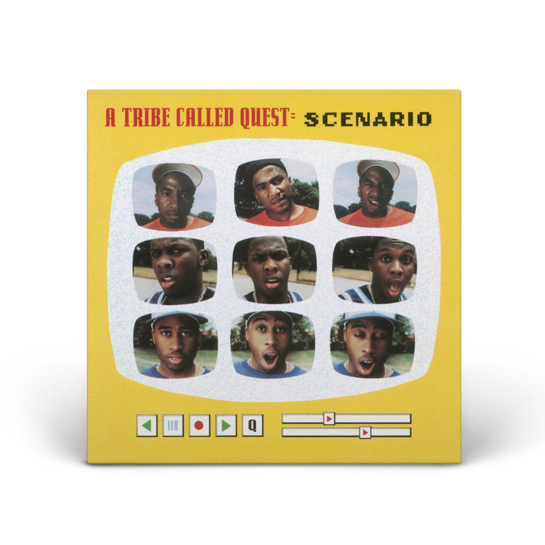 A Tribe Called Quest - Scenario (Remixes) Digital Audio LP