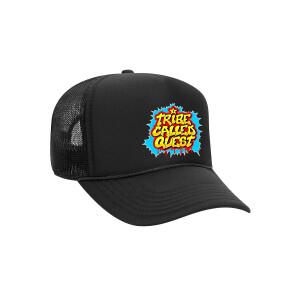 ATCQ Wild Style Black Trucker Hat