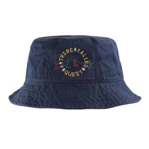 ATCQ Circle Logo Navy Bucket Hat