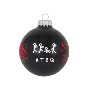 "A Tribe Called Quest 3 1/4"" Glass Ornament"