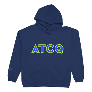 A Tribe Called Quest - ATCQ Blue Hoodie