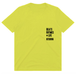 A Tribe Called Quest Beats, Rhymes + Life T-shirt