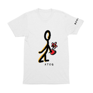 A Tribe Called Quest Bonita Flower V-Day T-shirt