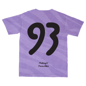 A Tribe Called Quest - Midnight Marauders 93 Purple Tiger Stripe T-shirt