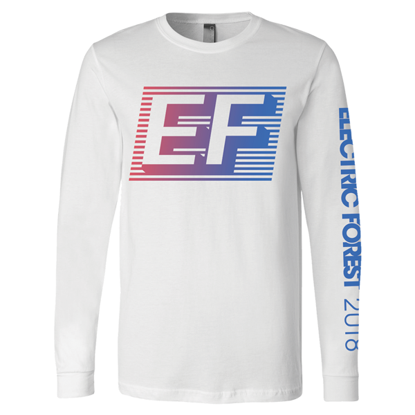 3a9185cc EF Gradient Line-up Long Sleeve Tee | Shop the Electric Forest Official  Store