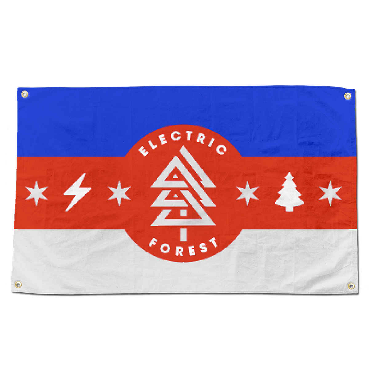 Camp Flag - Red/White/Blue