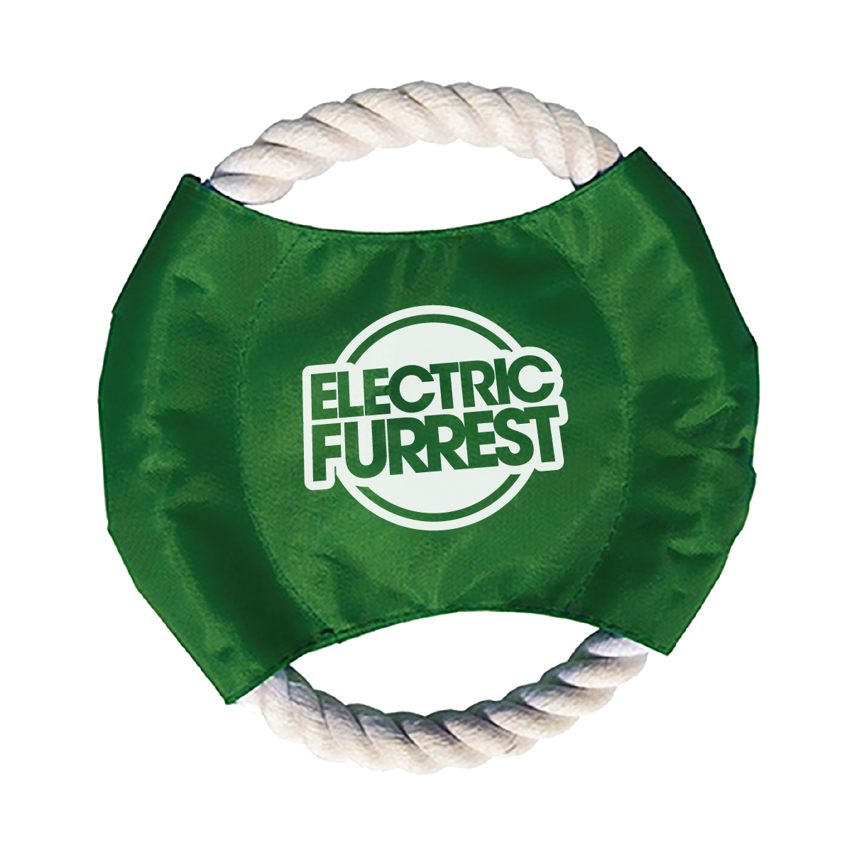 Electric Furrest Dog Rope Frisbee