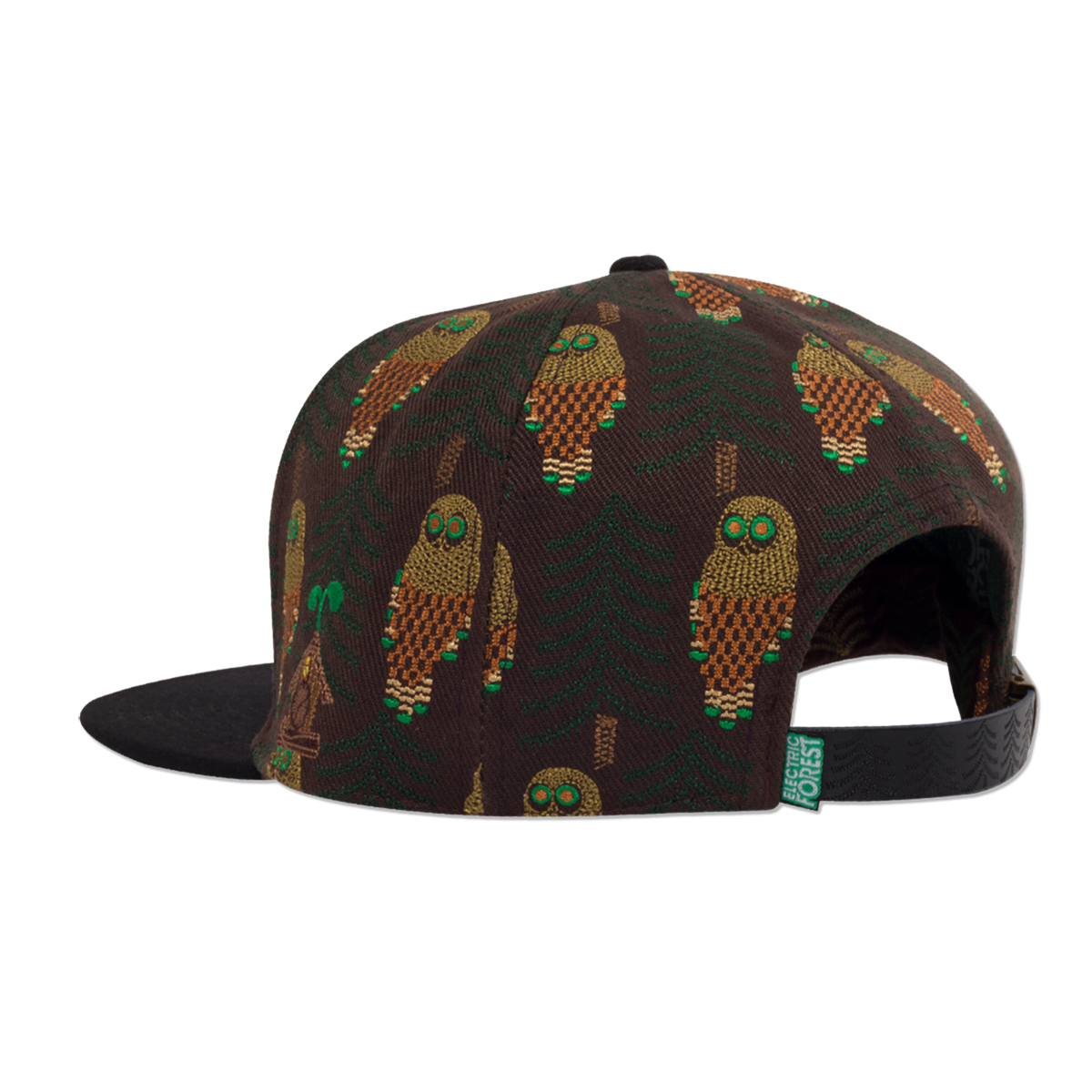Official 2017 Grassroots California custom flat brim, snap back - OWL