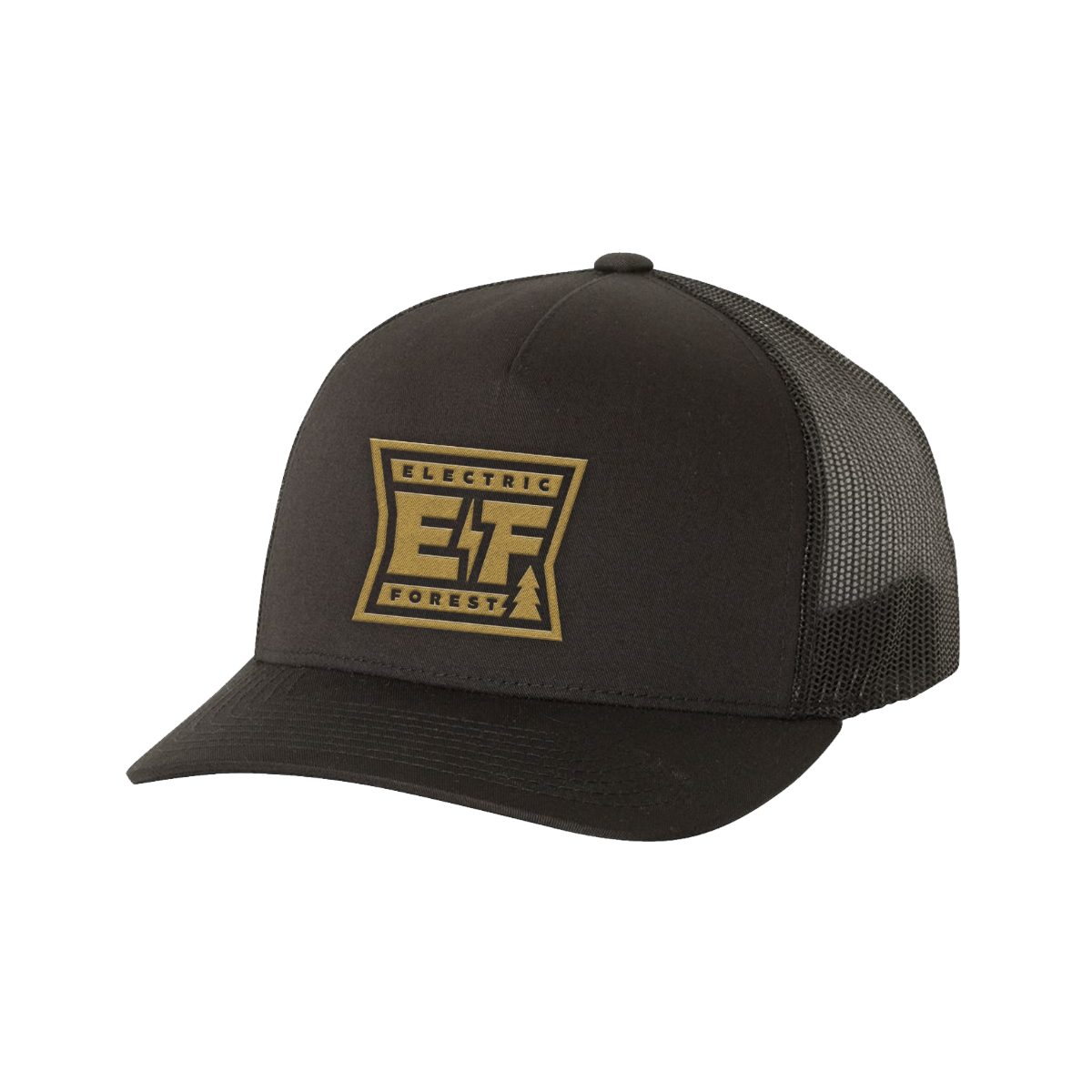 The EF 2020 Holiday Capsule Jay Trucker Hat