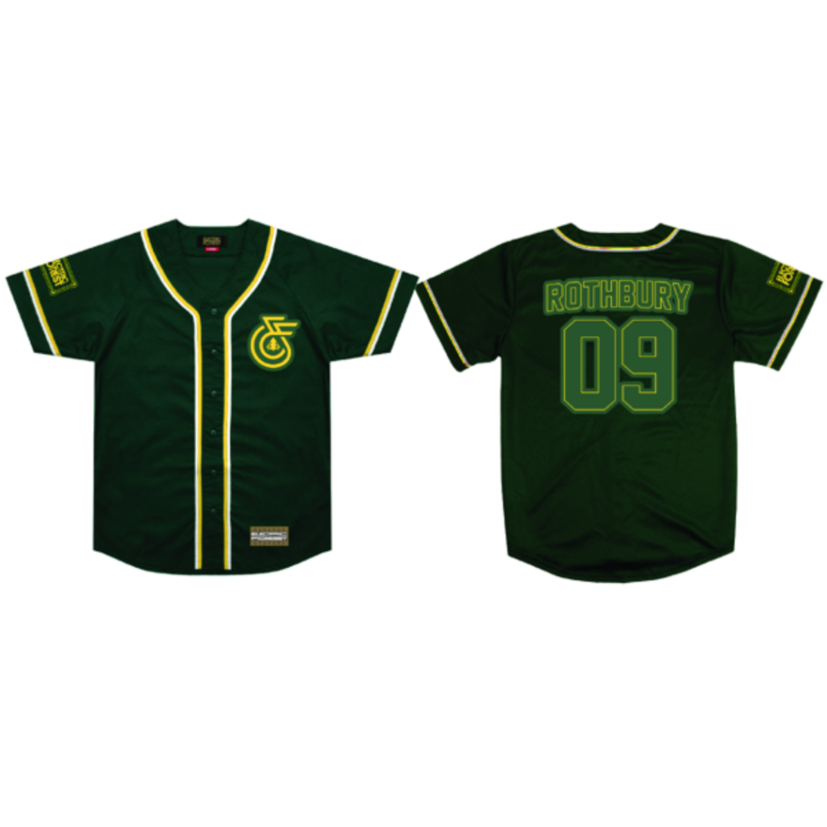 Monogram Baseball Jersey