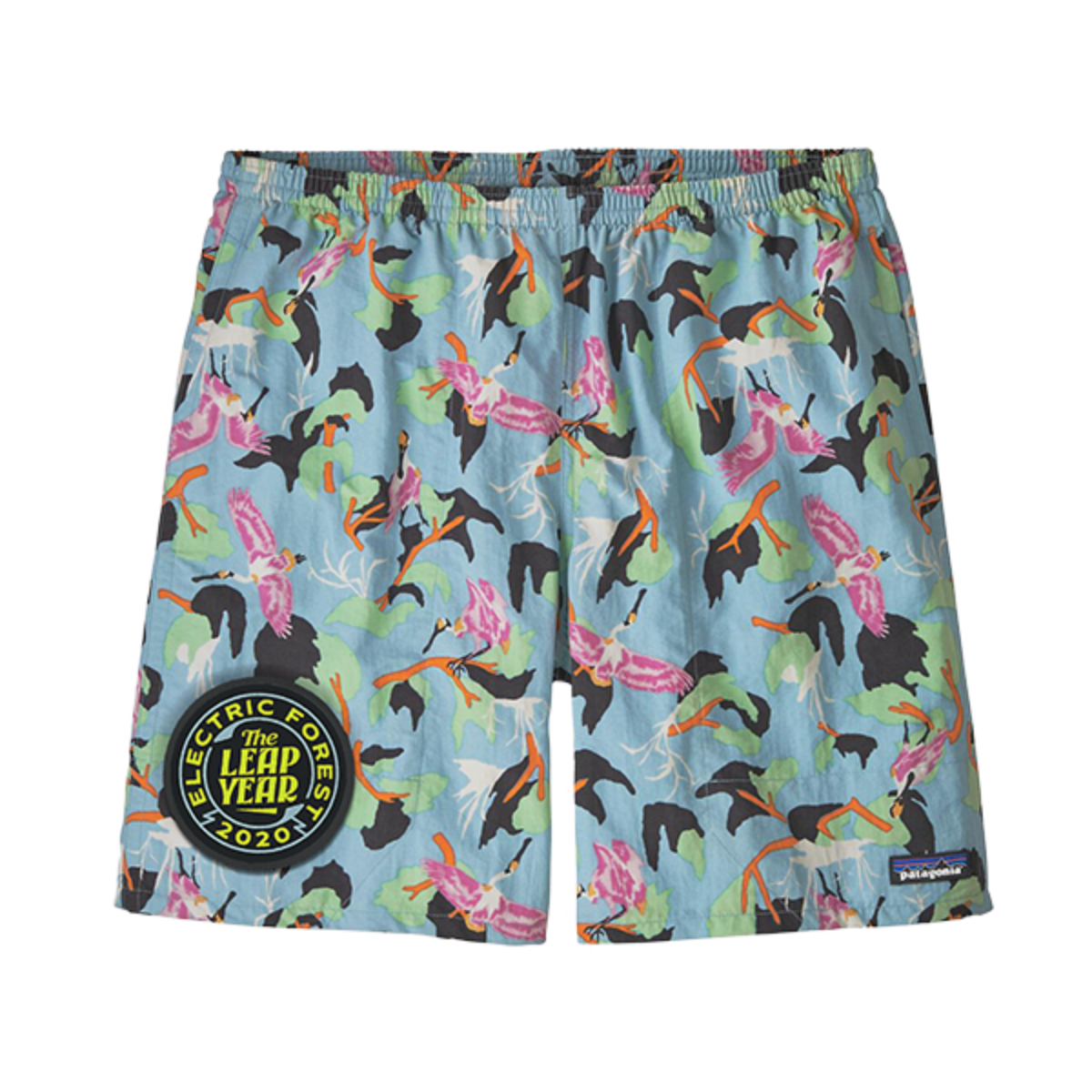 Woven Patch Shorts