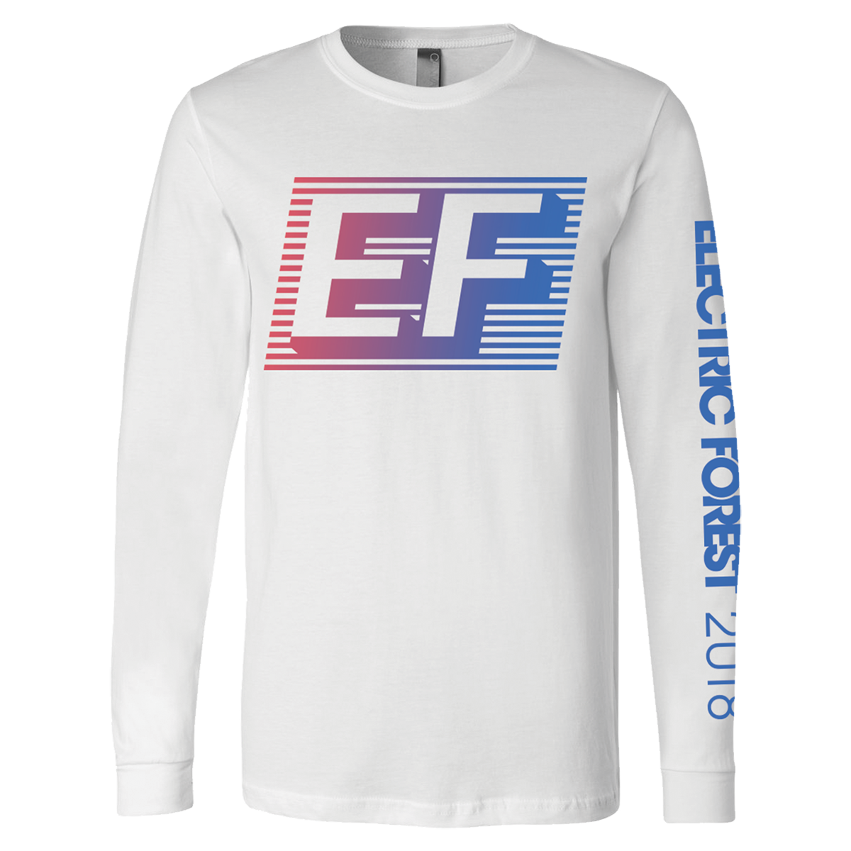 EF Gradient Line-up Long Sleeve Tee
