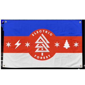 Camp Flag - Red/White/Blue