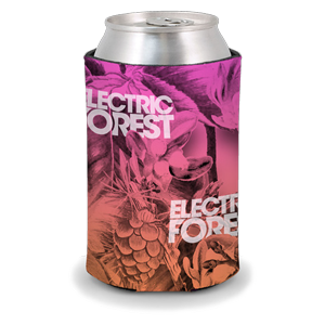 Electric Forest Koozie - Pink