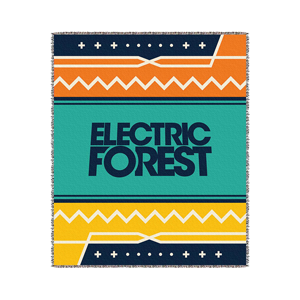 Electric Forest Blanket
