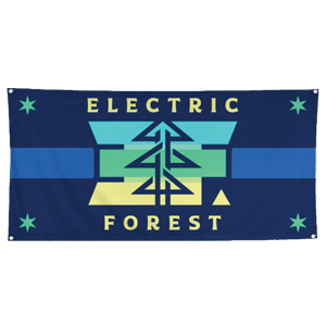 EF Logo Camp Flag
