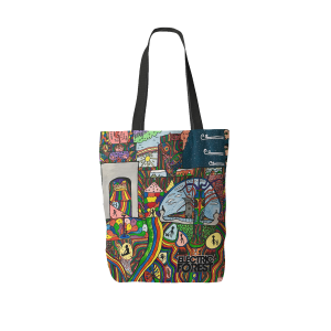 The Electric Forest x We Are Lions Collaborate Tote