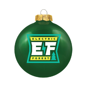 The EF Holiday 2020 Capsule Emoji Ornament