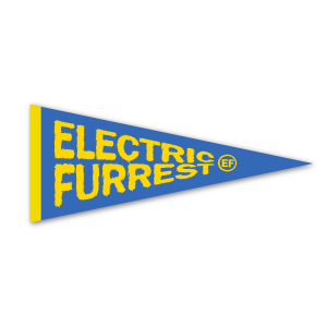 Electric Furrest Felt Pennant