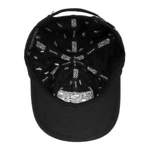 Grassroots CA Custom Black Logo Hat -- Strap Back