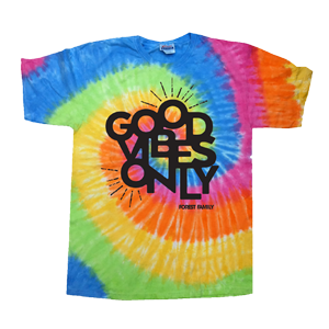 Electric Forest Good Vibes Only Tie Dye T-Shirt