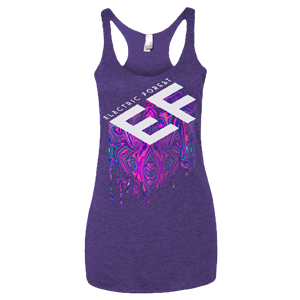 Electric Forest Acid Drip Ladies Tank