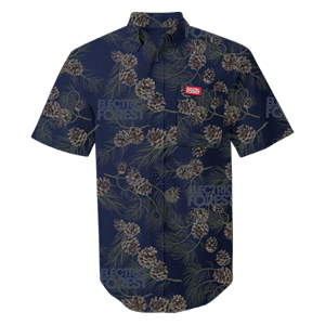 "Custom Electric Forest Acorn ""Hawaiian"" Shirt"