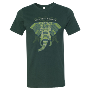 Electric Forest Elephant Tee