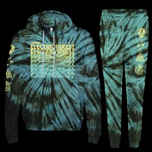 Tie-Dye Leap Year Sweatsuit