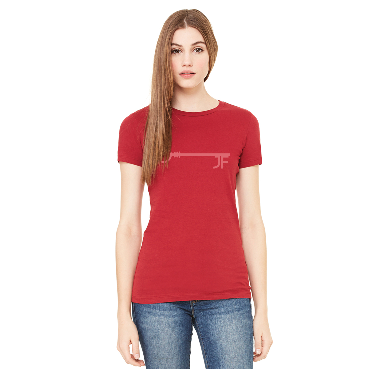 JF Key Red Women's Tee