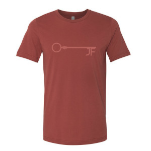 JF Key Brick Red Men's Tee