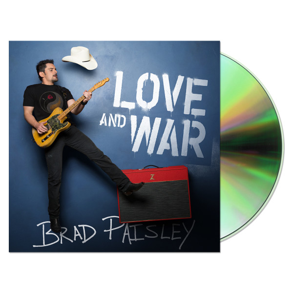 Brad Paisley Love & War CD
