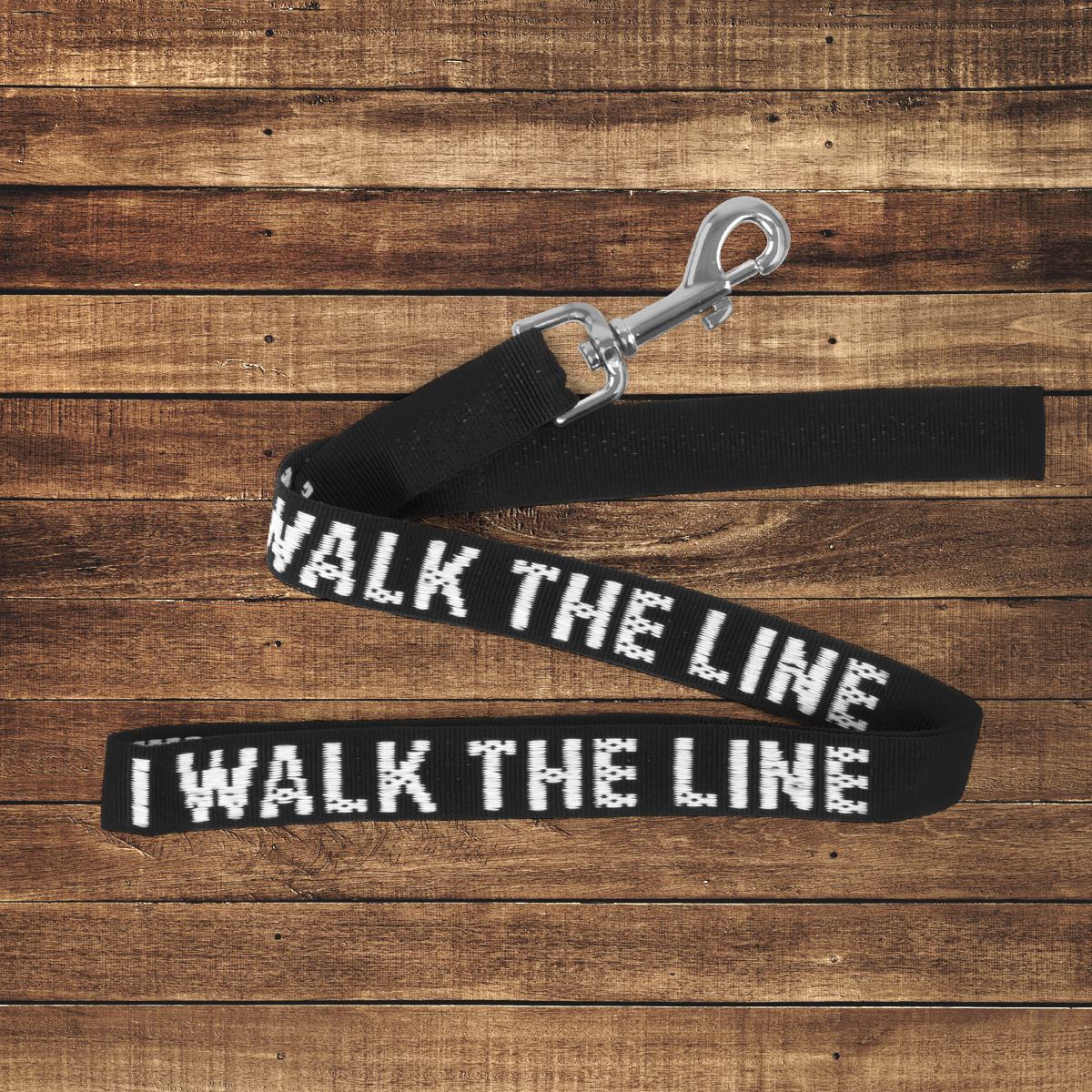 I Walk The Line Dog Leash
