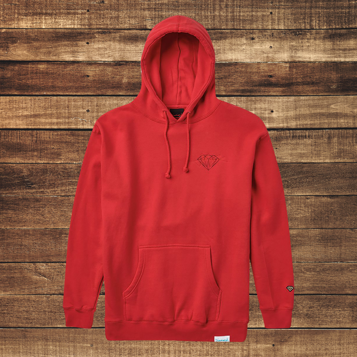 Diamonds in the Sky Red Hoodie