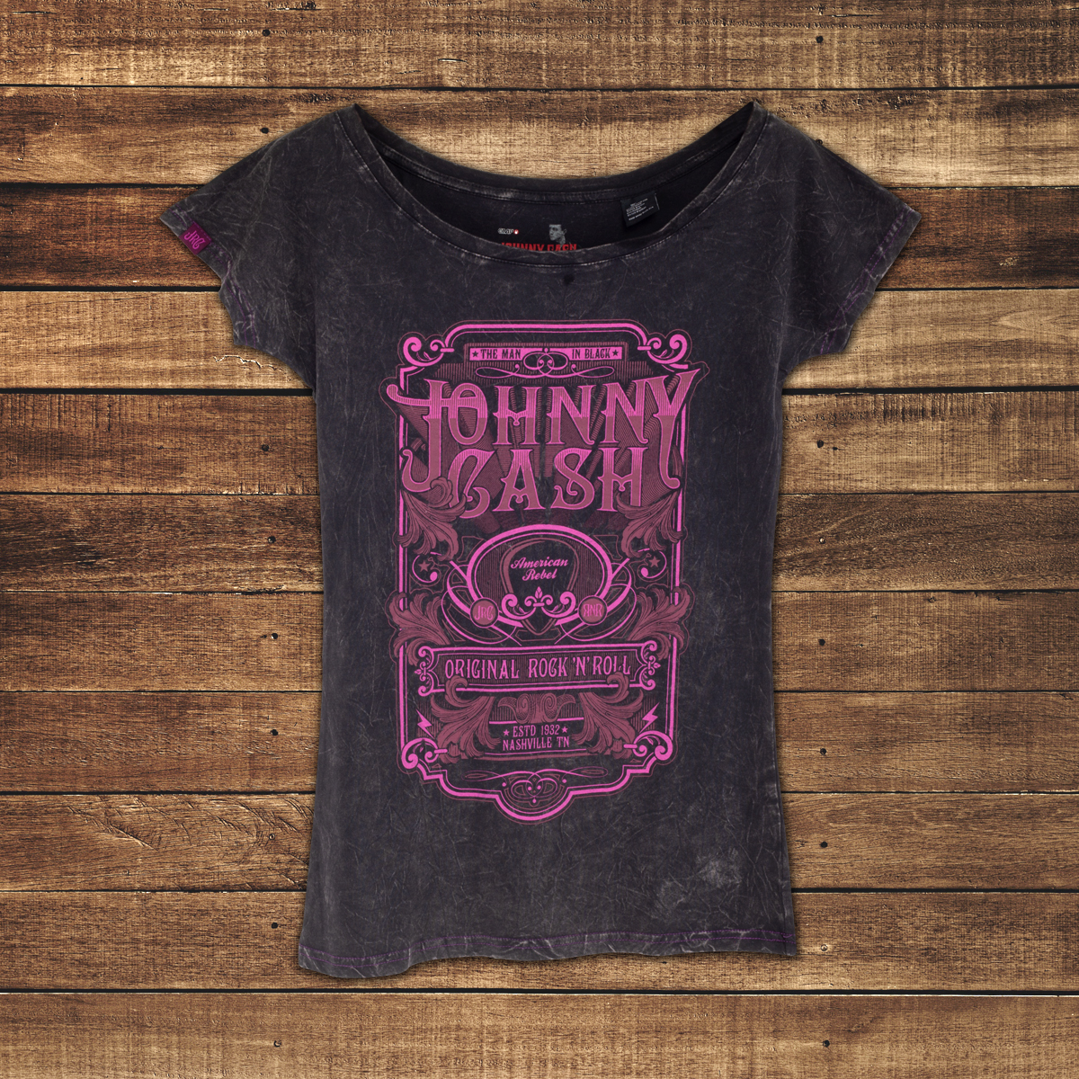 EMP JC Original R&R Pink T-Shirt
