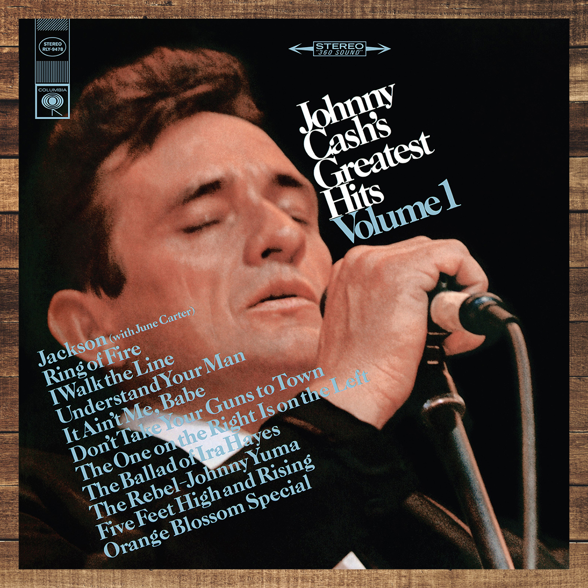 Johnny Cash's Greatest Hits Volume I Vinyl
