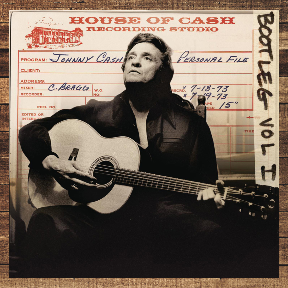 Johnny Cash Bootleg, Volume 1: Personal File CD