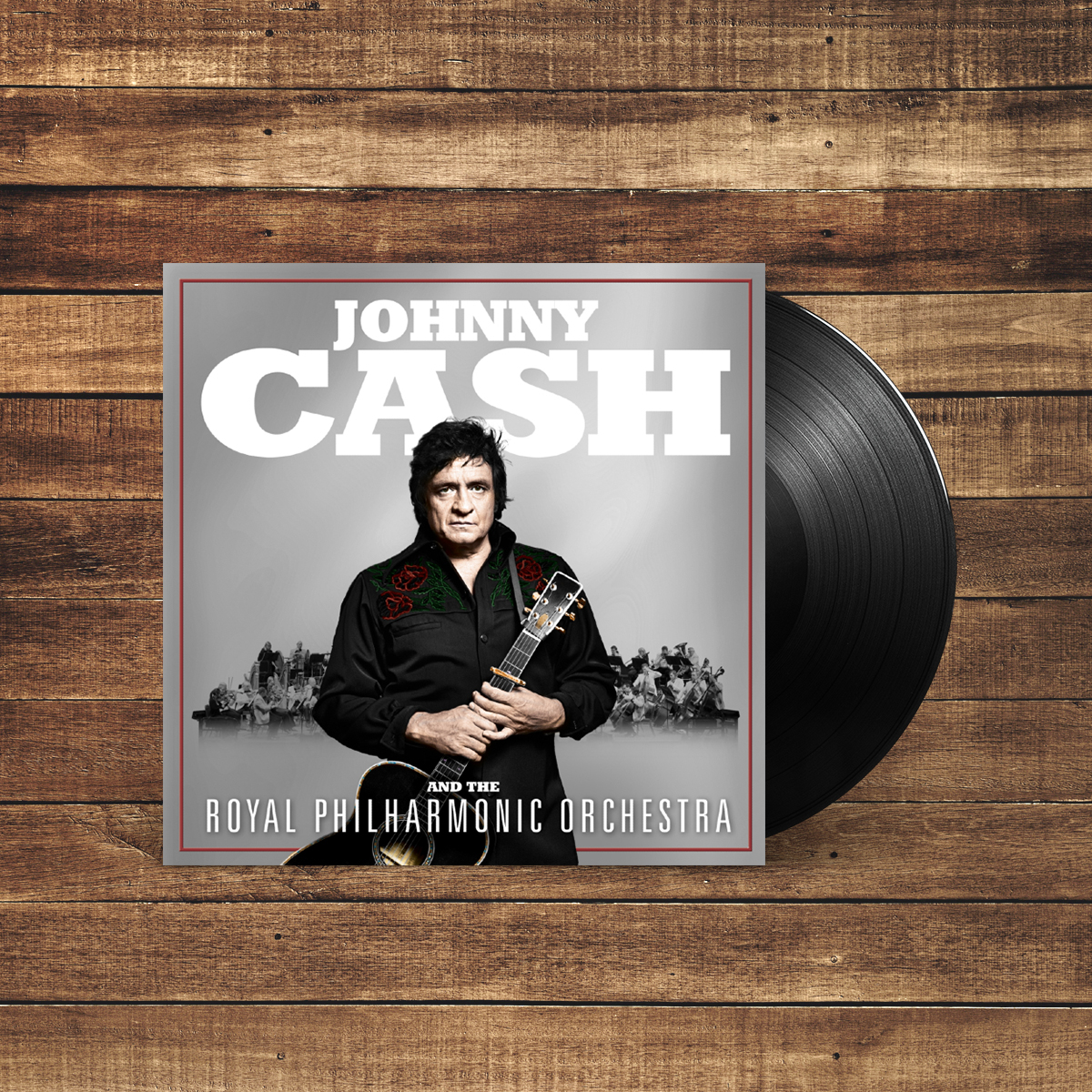 "Johnny Cash and The Royal Philharmonic Orchestra 12"" Vinyl LP"