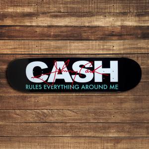 Cash Rules Skateboard