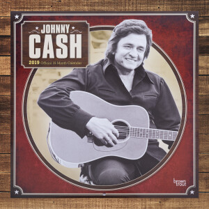 2019 Johnny Cash Calendar